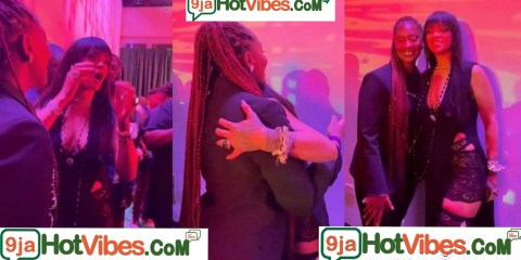 Grace Personified: Tears Of Joy Flows As Rihanna Screams Aloud After Meeting Tems For The First Time (Video)