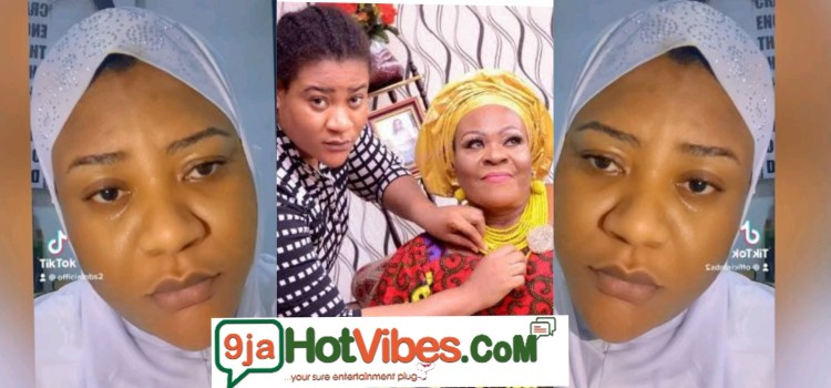 Nollywood On Screen Character Nkechi Blessing Sunday loses mum