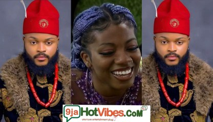 #BBNaija: You Will Know The Real Me Wen We Leave This House - #BBNaija2021 Housemate Whitemoney Tells Angel