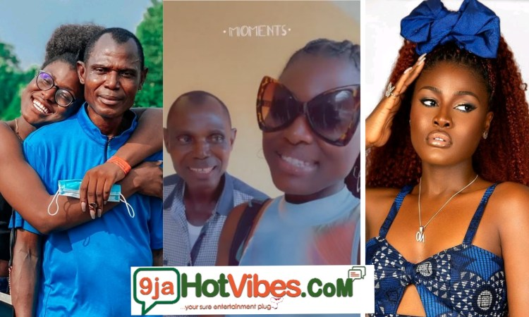 Alex Asogwa Surprises Her Dad On His Birthday While He Was At Work (video)