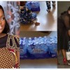 Funke Akindele reacts as one of her twin boys try to do the crate challenge (Video)