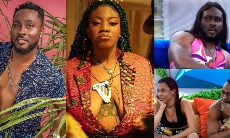 #BBNaija: Angel advises Pere on how to deal with Saga after winning veto he 'betrayed him