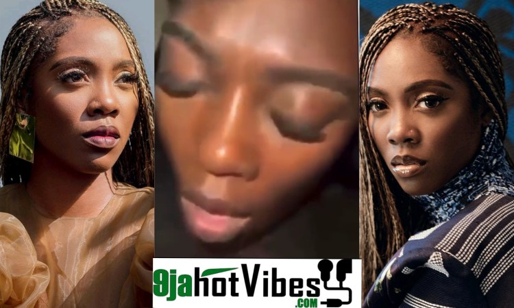 Watch The s*x Tape Video Of Nigeria Music Diva Tiwa Savage surfaces Online (video)