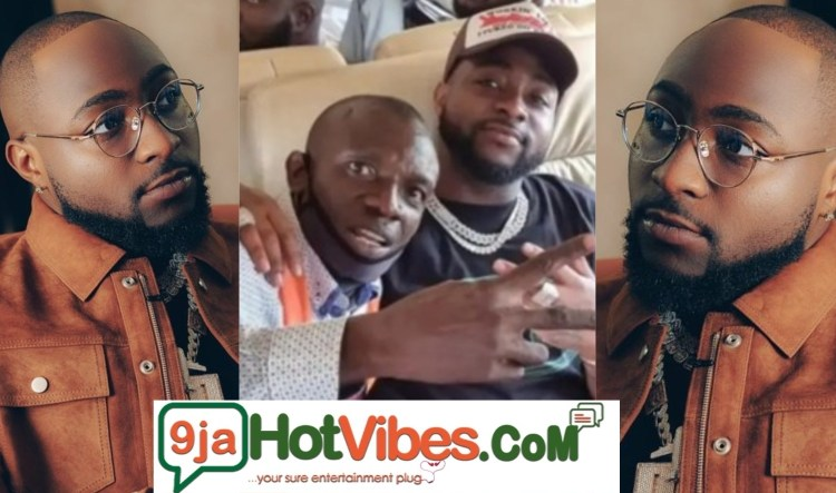 Davido request an airport worker to get a VIP treatment after he was being pushed by a security agent