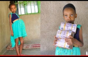 6-Year-Old 'Pregnant' Olga Blessing Receives 1.3 Million – Pregnant Girl Gets Help