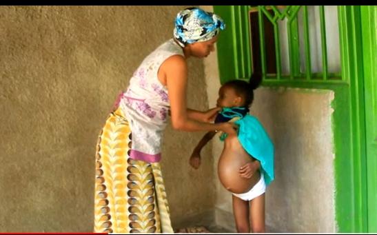 6-year-old pregnant girl blessing Olga