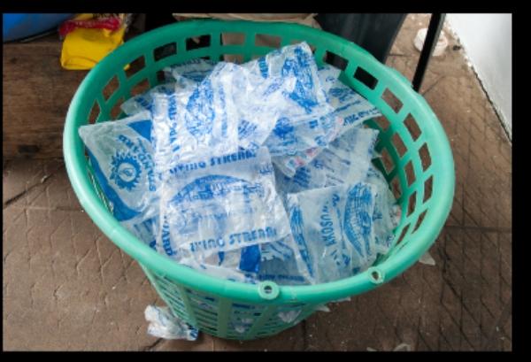 Pure water Sachet - How to make Money from Pure water Nylon.
