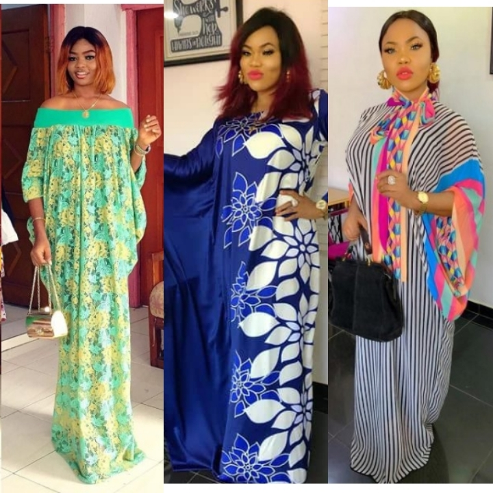 latest Bubu Gown Styles for Ladies