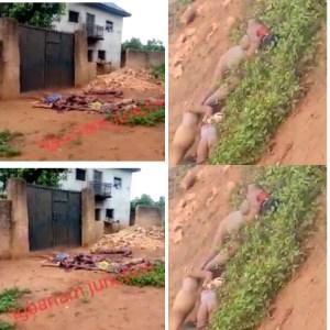 VIDEO Beheaded Dead Bodies Littered Igbariam Junction