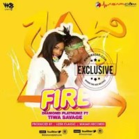 MUSIC: DIAMOND PLATNUM - FIRE ft. TIWA SAVAGE