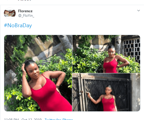 No bra day!! Women showcase their boobs as they go bra - free (photo)