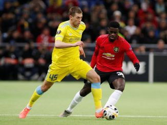 Fc Astana vs Manchester United