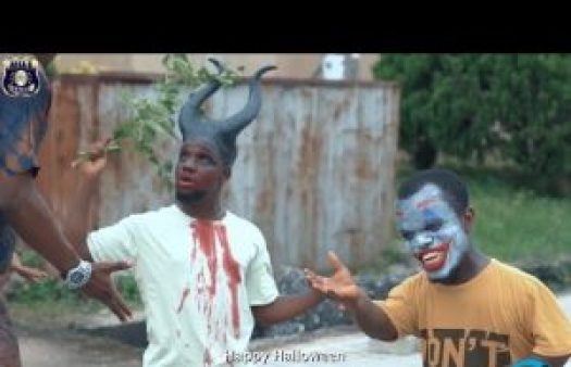 COMEDY VIDEO: Officer Woos - HAPPY HALLOWEEN | AFRICAN PENCIL GEE