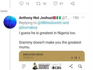 "Animal Talk""- Rapper Illbliss Comes Under Fire For Saying Burna Boy 'Is The Greatest'"
