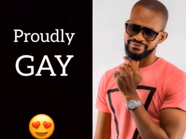 I'm proudly gay, says Nollywood actor