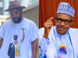 Falz reacts to Buhari's tweet of treating those who are too young to understand what occurred during the civil war in 'language they will understand'