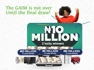 Fidelity Bank Says the GAIM is Not Over Until the Final Draw
