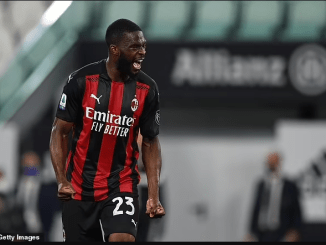 Fikayo Tomori set to seal permanent move to AC Milan from Chelsea in on £25m deal