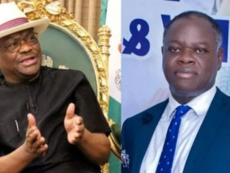 Gov Wike trades words with his former Commissioner who described him as a thug on National TV