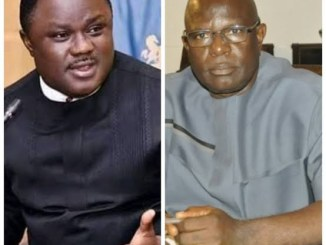 Governor Ayade's Special Adviser on SDGs resigns after his defection to APC from PDP