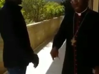 IPOB members approach Cardinal Arinze in Rome and ask him to talk to the Pope to endorse actualization of Biafra. He gave them an answer they probably didn't expect! (video)