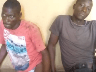 Robbers involved ghastly accident while fleeing with a victim's vehicle