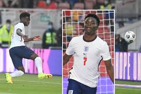 Saka , Grealish thrill England fans with super performance