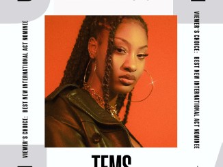 """Singer, Tems Nominated for BET """"Best New International Act"""" Viewer's Choice Awards 2021"""