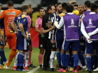 Boca Juniors players questioned by police after brawl