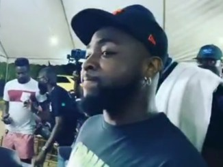 Davido and his squad arrive at the candlelight event held in honour of his late aide, Obama DMW (video)