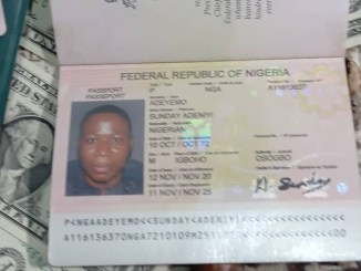 DSS declares Sunday Igboho wanted, parades his 'Foot Soldiers' and arms recovered from his residence (photos)