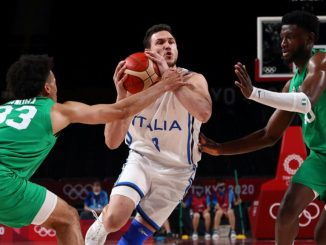 Nigeria men basketball team D'Tigers lose to Italy exit Olympics