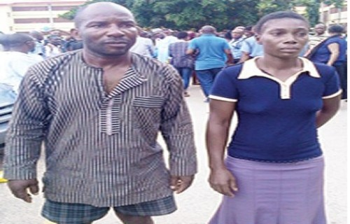 White Garment Prophet Arrested For Keeping Guns For Militants And Robbers (Photo)