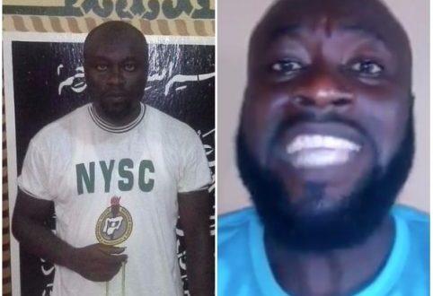 Igbo corp member that converted to Islam over Buhari renounces Islam