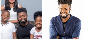 Basketmouth and family wow in new photo