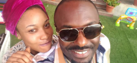 Too cute! Tonto Dikeh's son photobombs Jim Iyke's selfie (Photos)