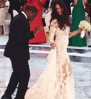 Folarin Alakija's new wife Naza used to date Rob Kardashian (See photos)