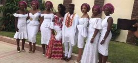 Photos from Ghanaian musician Stonebwoy's wedding today