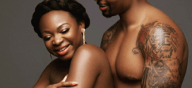Power star Naturi Naughton goes semi-nude for maternity shoot with boyfriend
