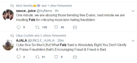 Falz is trending on Twitter, here's what Nigerians are saying about his statement on musicians glorifying fraud