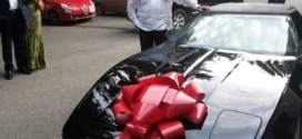 Check out the Chevy coup? whip Ex-Ghanaian president, Rawlings' got for his 70th birthday (Photos)