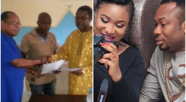 Video: It's Over!! Tonto Dikeh's father returns her bride price to Olakunle Churchill's family