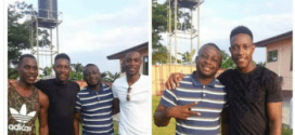 Photos: England Star, Danny Welbeck visits his family in Ghana