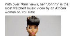 Yemi Alade's video becomes most watched video by an African woman on YouTube