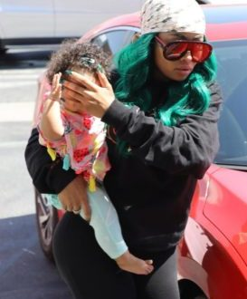 Photos: Blac Chyna spotted out