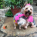 Former beauty queen Munachi Abii did a baby shower for her pregnant dogs (Photos)