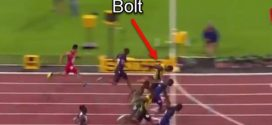 Usain Bolt loses final individual race of his career to American Justin Gaitlin (Video)