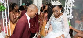 Photos from wedding of ex beauty Queen of Aso, Christabel