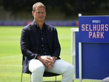 Crystal Palace Manager Frank De Boer Responds To Sack Rumors