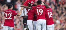 Lukaku Scores As Manchester United Overpower Everton (4-0)